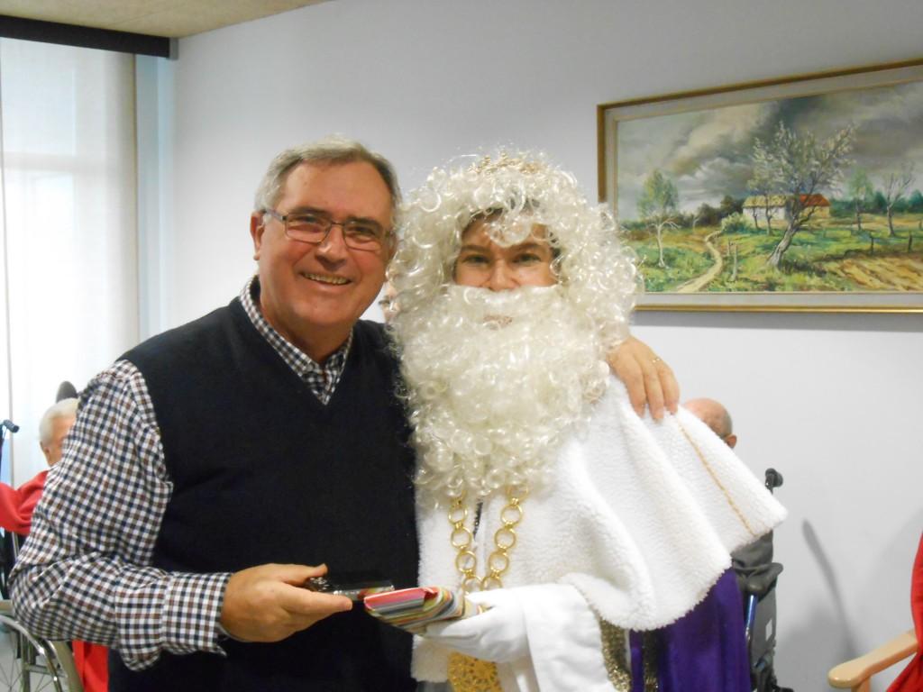 Visita de los Reyes Magos en la Residencia Betania