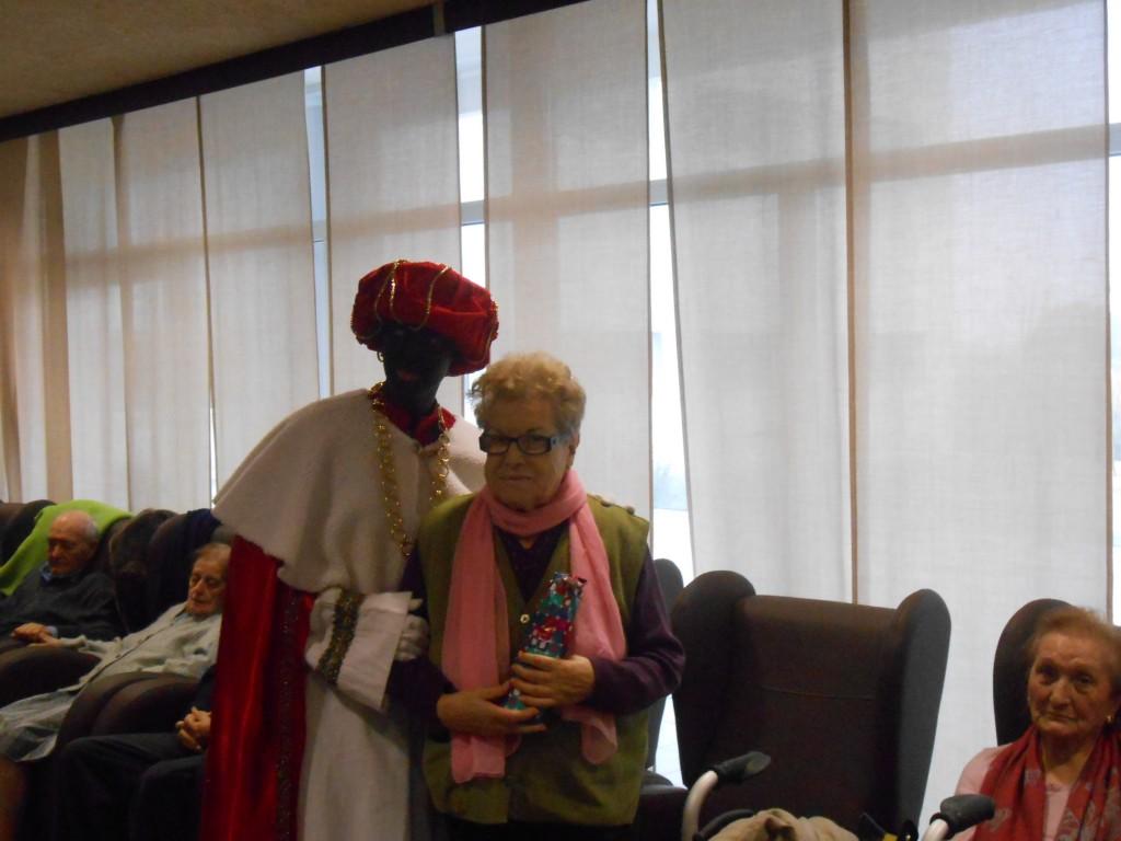 Los Reyes Magos en la Residencia de mayores Betania