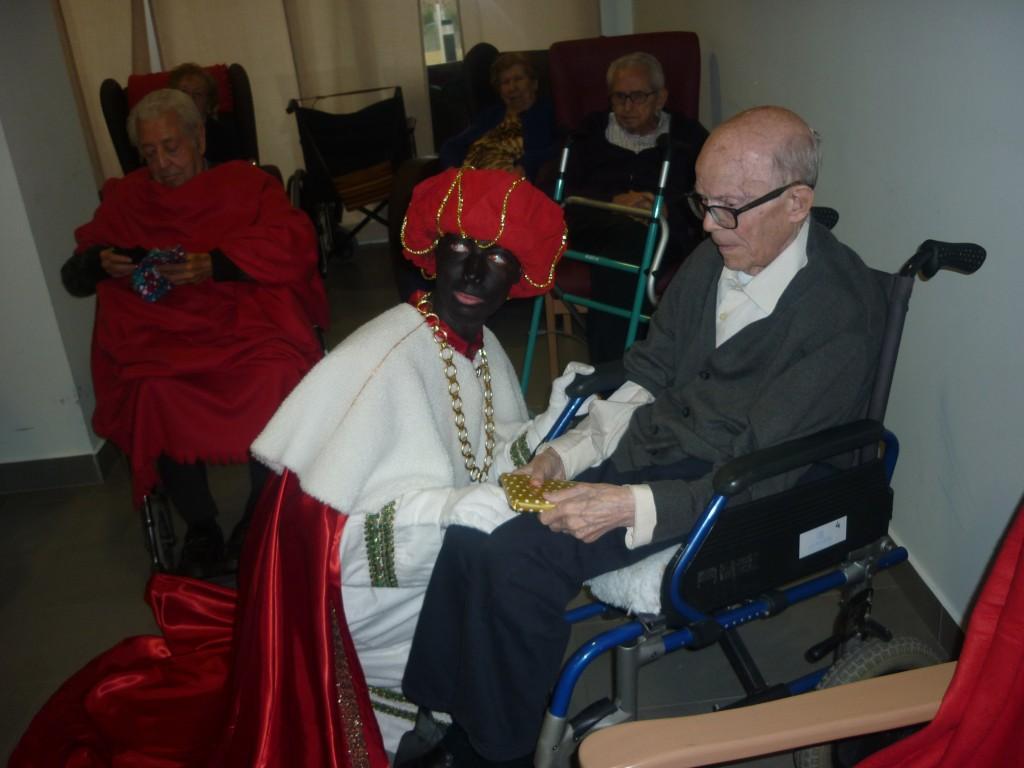 Reyes Magos en la Residencia Betania